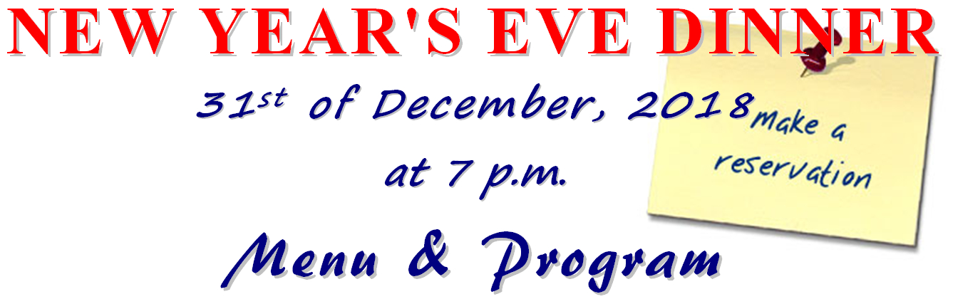for the 47th time we invite you come and spend with us this new years eve night
